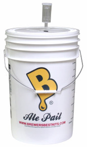 6.5 Gallon Fermenting Bucket with Lid & Air Lock
