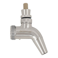 Intertap Chrome Plated Forward Sealing Faucet