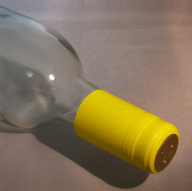 Yellow PVC Shrink Capsules