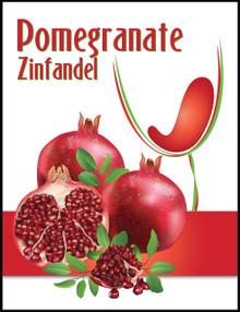 Island Mist Pomegranate Zinfandel Labels