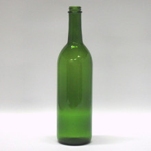 750 ml Green Claret Bottles - Screw Finish