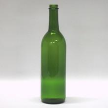 750 ml Green Claret Bottles - Screw Finish