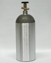 New 10 lb Aluminum CO2 Tank