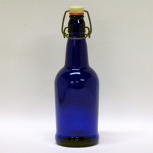 16 oz Cobalt Blue EZ Cap Bottles