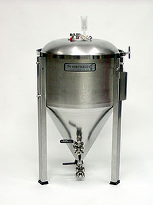 14 Gallon Conical Fermentor with NPT Fittings