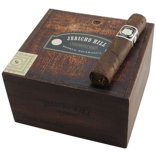 Jericho Hill By Crowned Heads Jack Brown Robusto Gordo