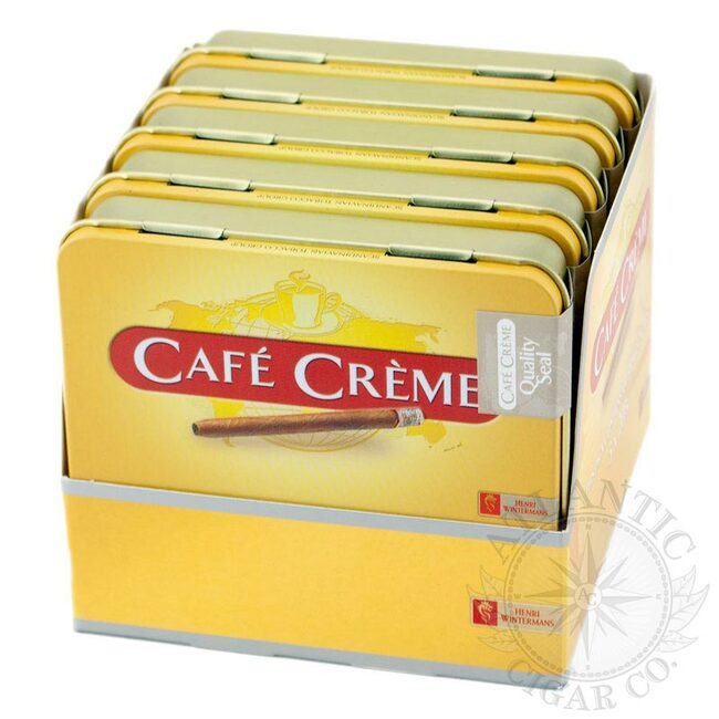 Cafe Creme Original Cigarillio Tins