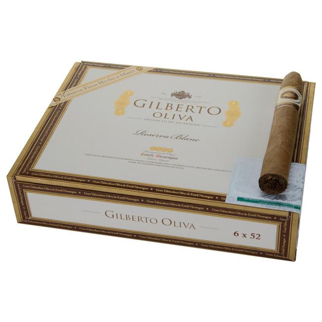 Oliva Gilberto Oliva Reserva Blanc 6x52T Torpedo