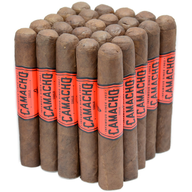 Camacho Corojo Natural Robusto 25-Pack