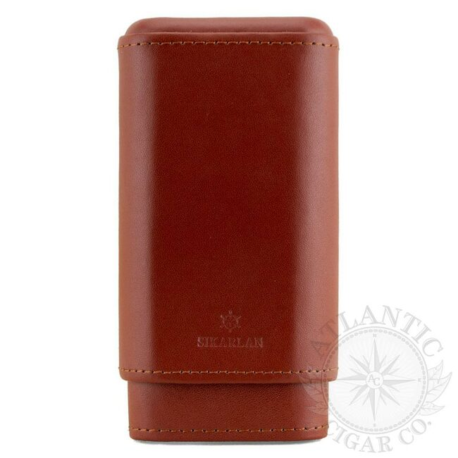 Atlantic Cigar The Western Cigar Case (Brown)