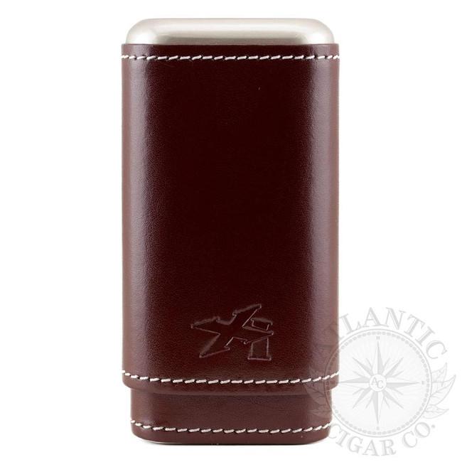 Xikar Xikar Envoy Cognac Leather 3 Count