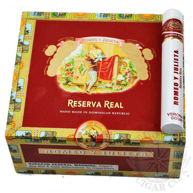 Romeo Y Julieta Reserva Real Verona's Court Tube