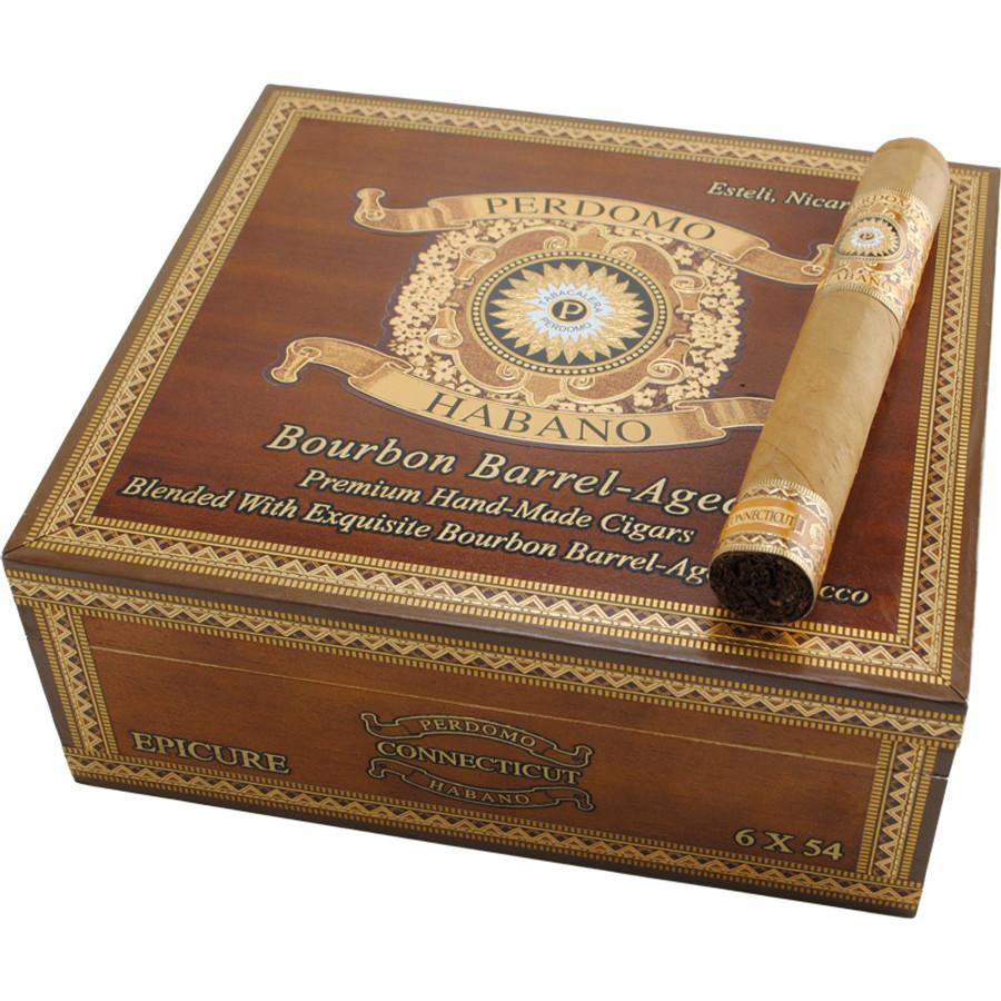 Perdomo Habano Bourbon Barrel Aged Connecticut Epicure
