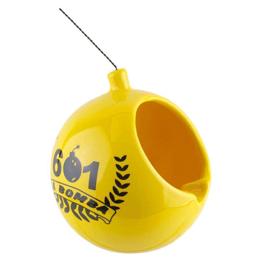 601 La Bomba La Bomba Da Bomb Ashtray Yellow