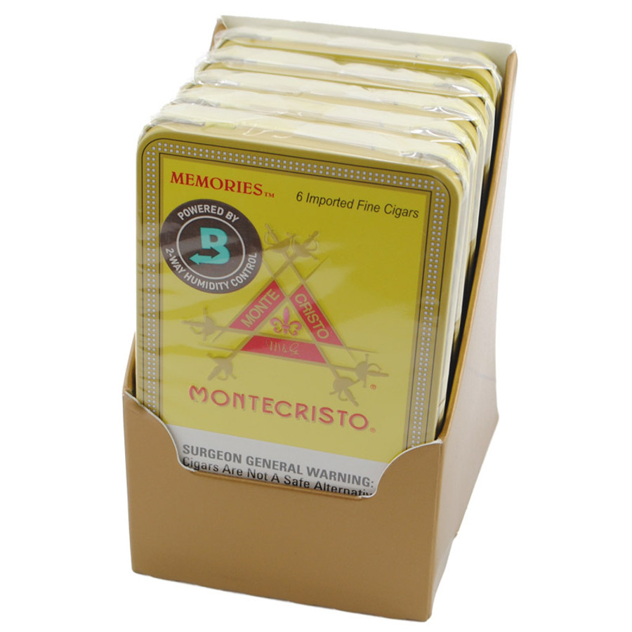 Montecristo Original Memories Tin 5/6