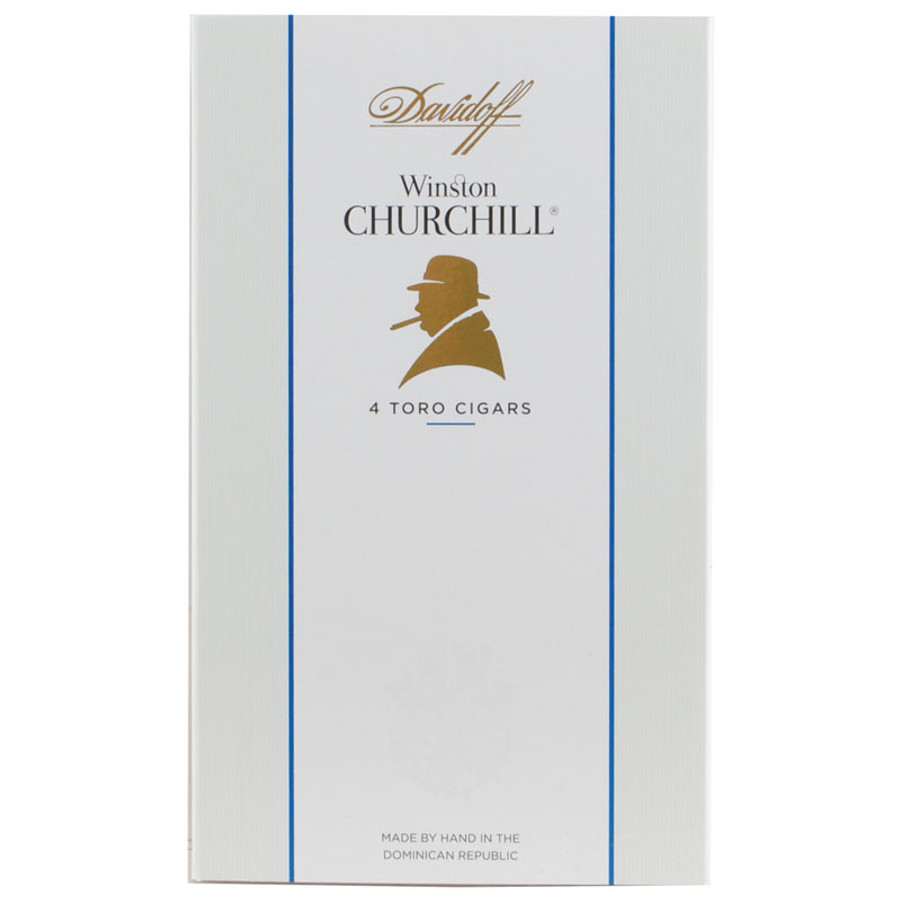 Davidoff Winston Churchill Toro 4-Pack 1/4