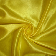Poly Crepe Back Satin- Bright Yellow