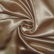 Poly Crepe Back Satin - Taupe