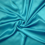 Poly Charmeuse - Turquoise