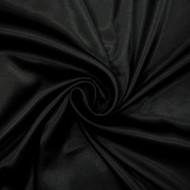 Poly Charmeuse - Black