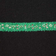 Catalina Jade Sequin Rhinestone Trim