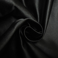 Silk Satin Noble - Black