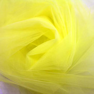 "Lemon 108"" Nylon Tulle"