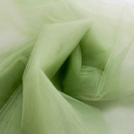 "Olive 108"" Nylon Tulle"