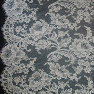 French Alencon Lace - Bianca