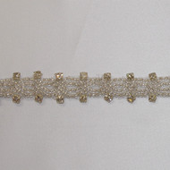 Avery Oval Crystal Trim