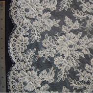 French Alencon Lace - Evelyn