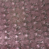 Plum Foil Faux Fur