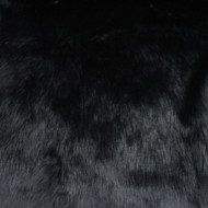 Black Luxury Shag Faux Fur