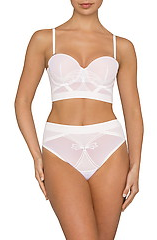 Nancy Ganz Snow White Strapless Bra