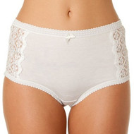 Triumph Cotton & Lace Full Brief