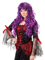 Cheryl Wig. Purple.