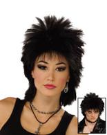 80's Rock Idol. Black.