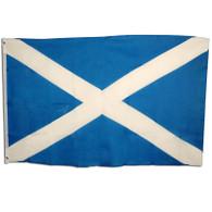 Scotland Flag. 3' x 5' Cloth.