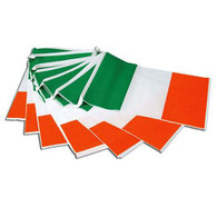Bunting. Ireland 7m, 25 Flags.
