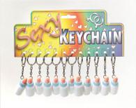 Mini Dicky Bottle Keyring.