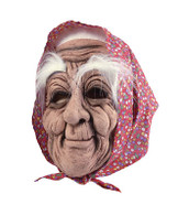 Old Woman + Headscarf Mask