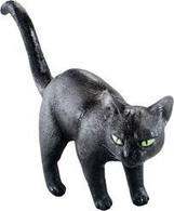 Black Cat. Rubber.