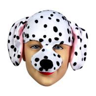 Dalmation Half Face & Headband.