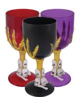 Halloween Wine Glass, Gothic Goblet