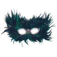 Green/Black Feather.