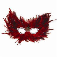 Red & Black Feather.