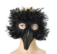 Black Bird Feather Eye Mas.
