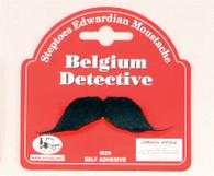 Belgium Detective Moustache.