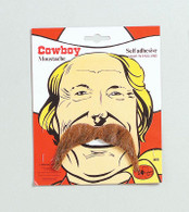 Cowboy Tash. Brown.