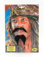 Caribbean Pirate Beard & Tash.